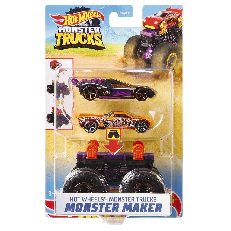 Hot Wheels Hot Wheels Monster Trucks Monster Makers Assorted, , hi-res