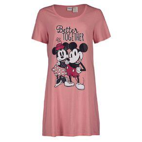 Mickey Mouse Disney Women's Short Sleeves Nightie