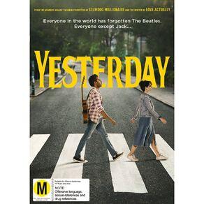 Yesterday DVD 1Disc