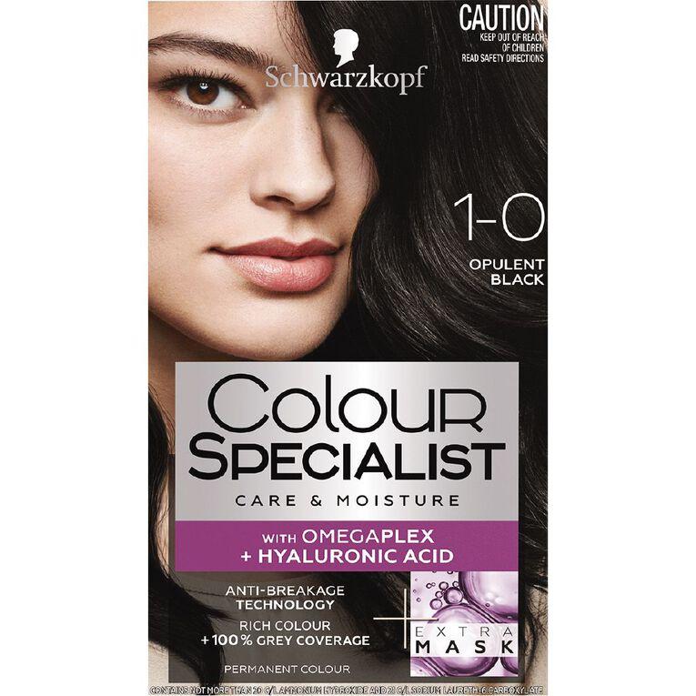 Schwarzkopf Colour Specialist 1.0 Opulent Black, , hi-res