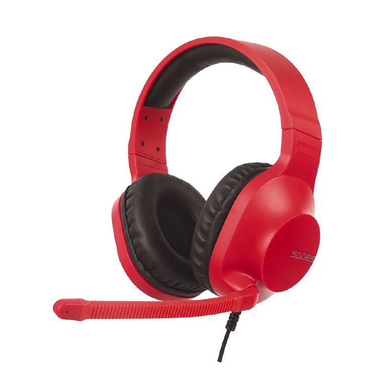 SADES Spirits Gaming Headset Red, , hi-res