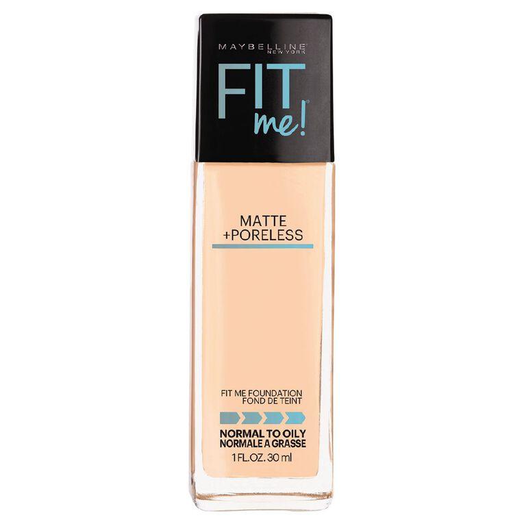 Maybelline Fit Me Matte + Poreless Foundation 128 Warm Nude, , hi-res