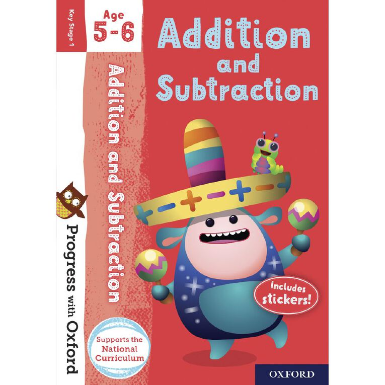 Addition and Subtraction Age 5-6 by Oxford University Press N/A, , hi-res