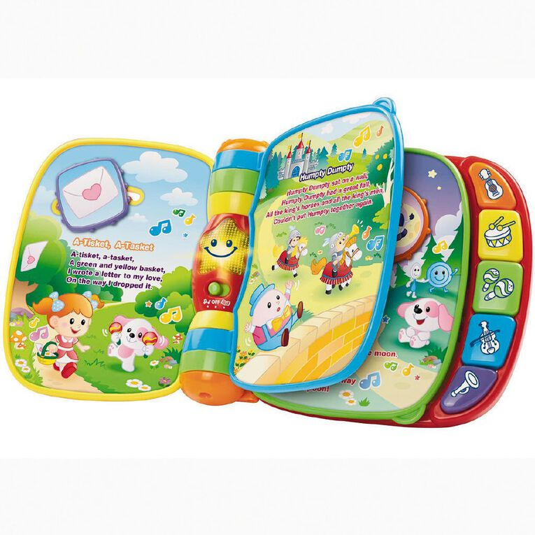 Vtech Musical Rhymes Book Exclusive, , hi-res