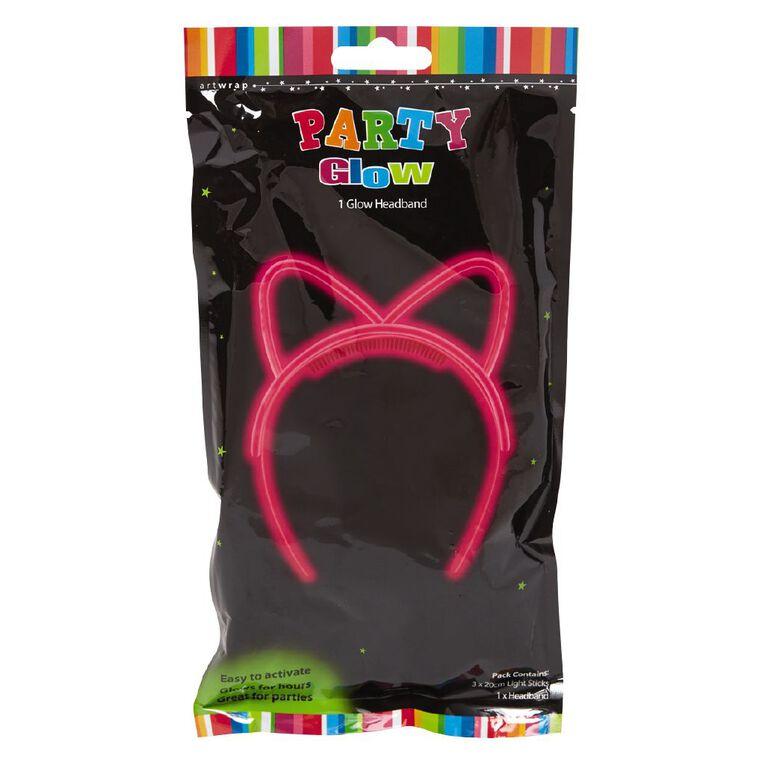 Artwrap Party Glow Headband Cat 1 Pack, , hi-res