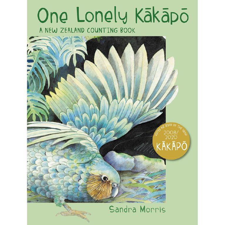 One Lonely Kakapo by Sandra Morris, , hi-res image number null