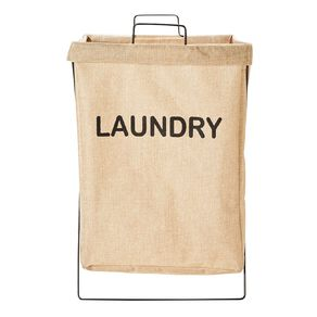 Living & Co Foldable Laundry Hamper With Frame
