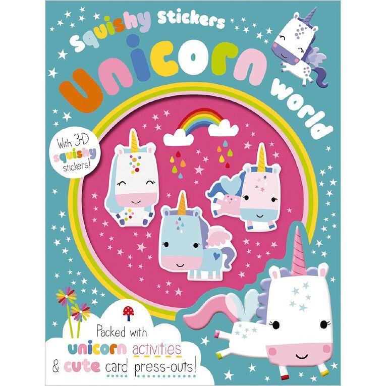 Squishy Stickers - Unicorn World, , hi-res