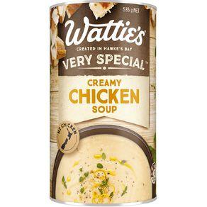 Wattie's Very Special Creamy Chicken Soup 535g