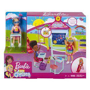 Barbie Chelsea School Playset