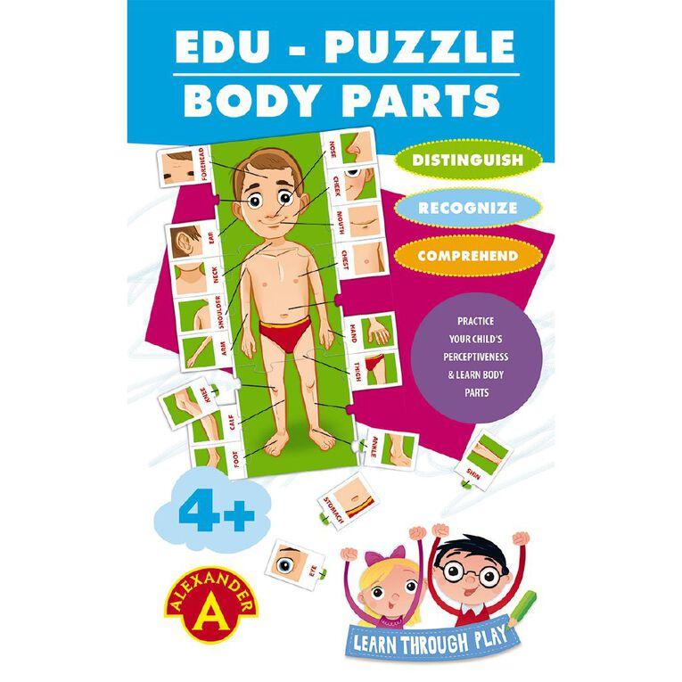 Alexander Games Edu-Puzzle Body Parts, , hi-res