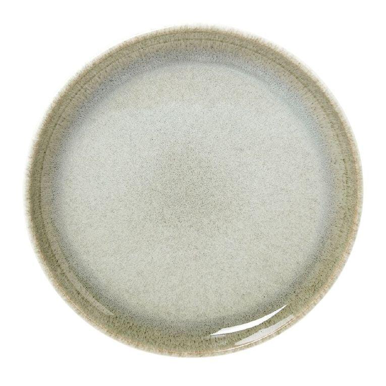 Living & Co Kina Glazed Side Plate Green, , hi-res