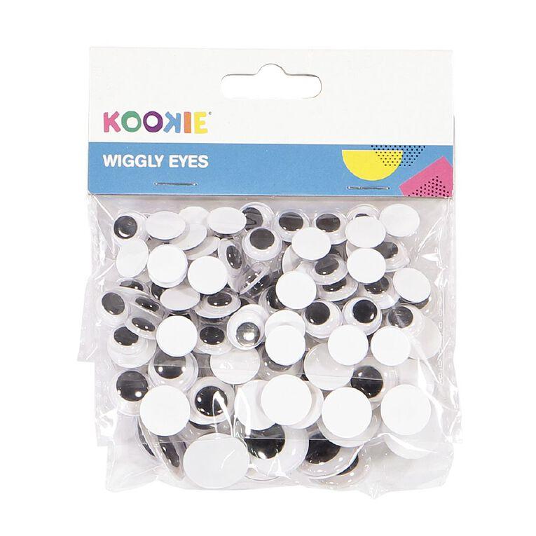 Kookie Wiggly Eyes Round Shape, , hi-res