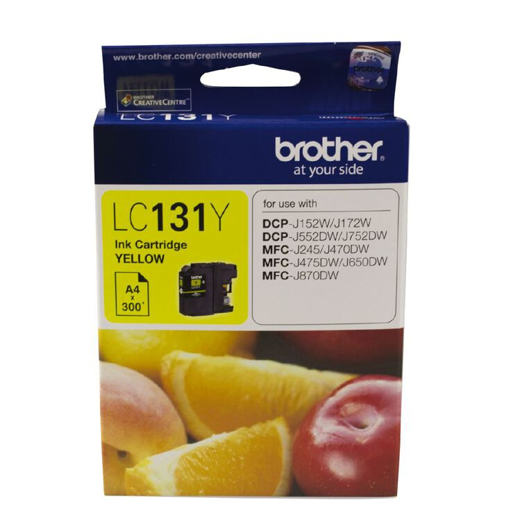 Brother Ink LC131 Yellow (300 Pages), , hi-res