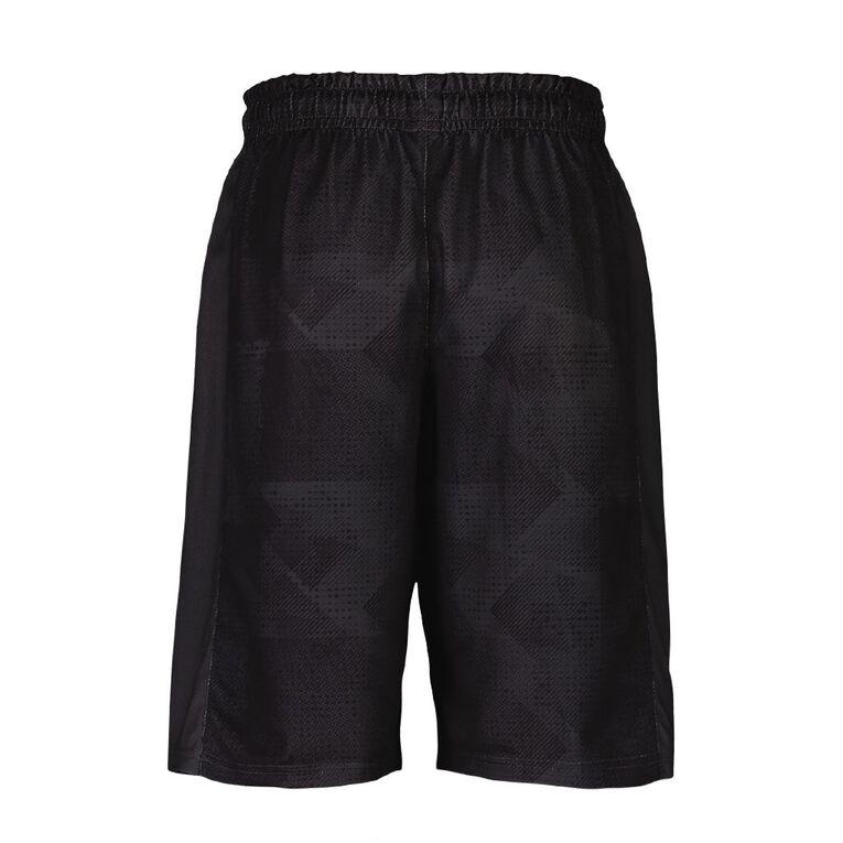 Active Intent Men's Printed Basketball Shorts, Grey Dark, hi-res