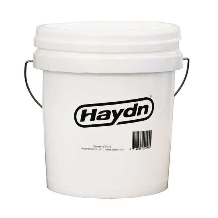 Haydn Paint Pot Plastic and Lid 4L, , hi-res