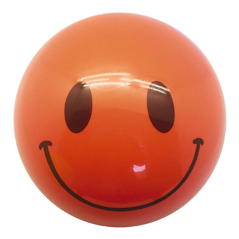 Active Intent Smiley Playball 210mm Assorted, , hi-res