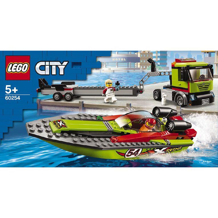 LEGO City Race Boat Transporter 60254, , hi-res