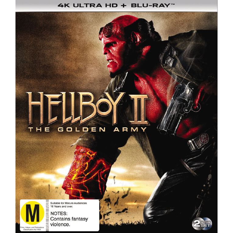 Hellboy Ii The Golden Army 4K Blu-ray 2Disc, , hi-res