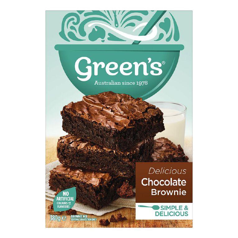 Green's Chocolate Brownie 380g, , hi-res