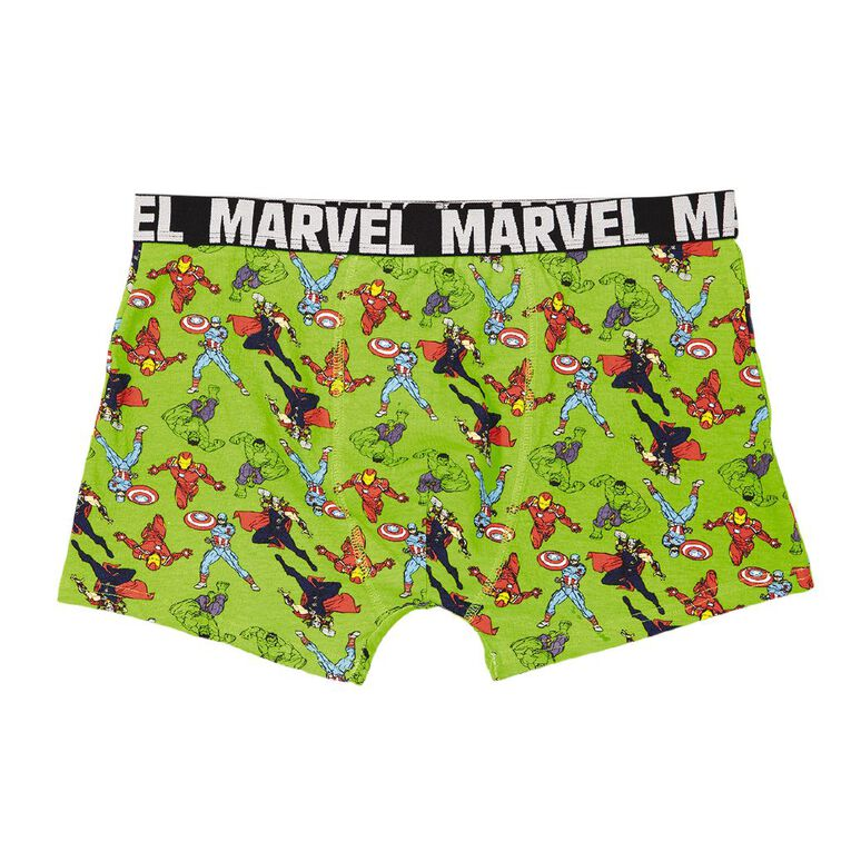 Avengers Men's Trunks, Green, hi-res