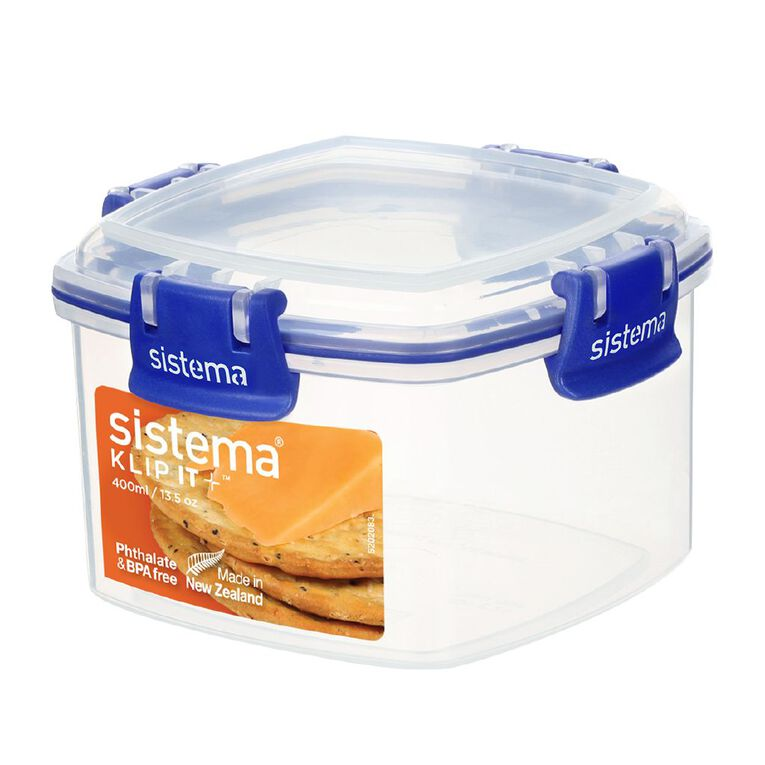 Sistema Klip It Plus Cracker Container Assorted 400ml, , hi-res