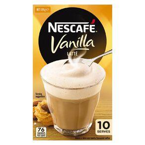 Nescafe Cafe Vanilla 10 Pack