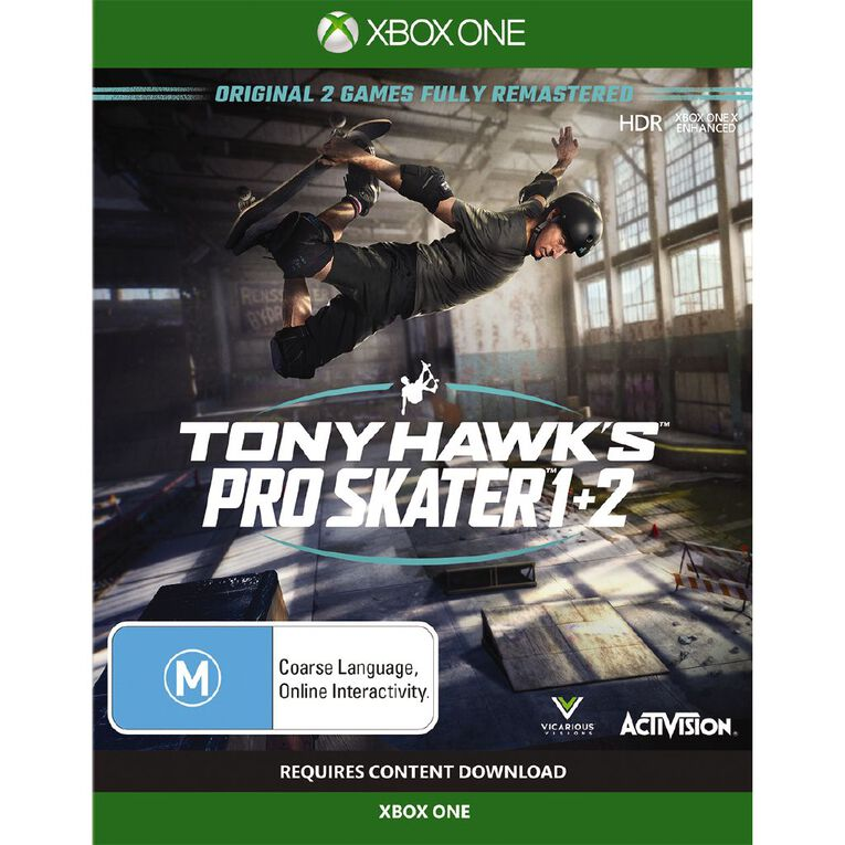 XboxOne Tony Hawk Pro Skater 1 & 2 XB1, , hi-res