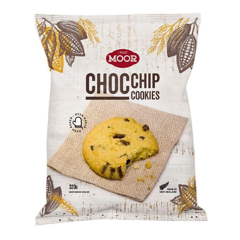 Moor Choc Chip Cookies 320g, , hi-res
