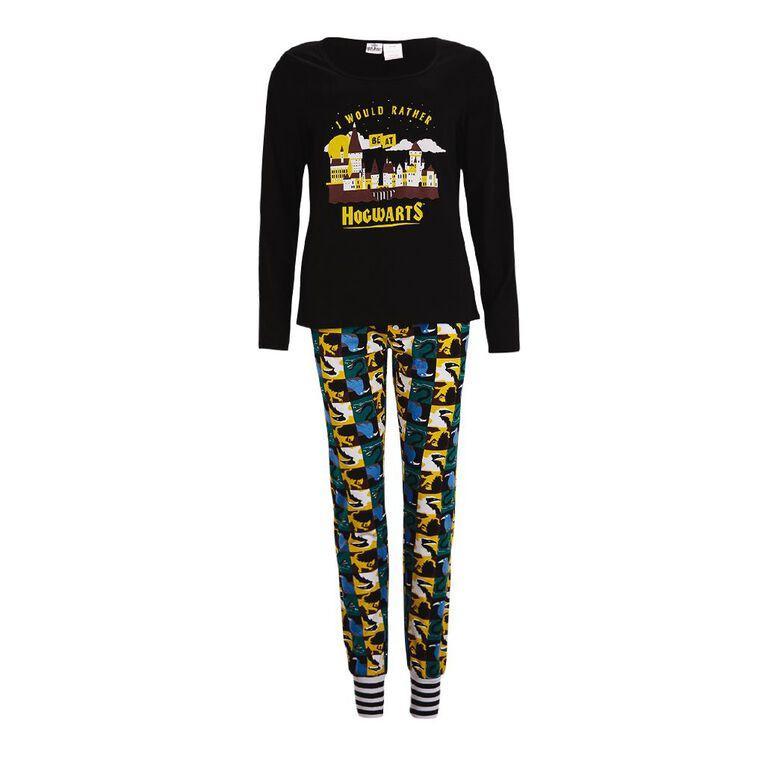 Harry Potter Warner Bros Women's Knit Pyjamas, Burgundy, hi-res