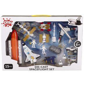 Play Studio Die-cast Spaceflight Set