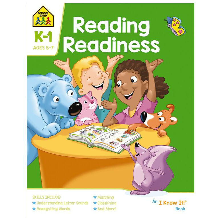 Reading Readiness I Know It Book (4-6yrs) by School Zone, , hi-res
