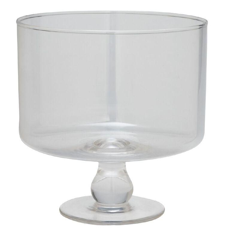 Living & Co Glass Trifle Bowl 3L, , hi-res