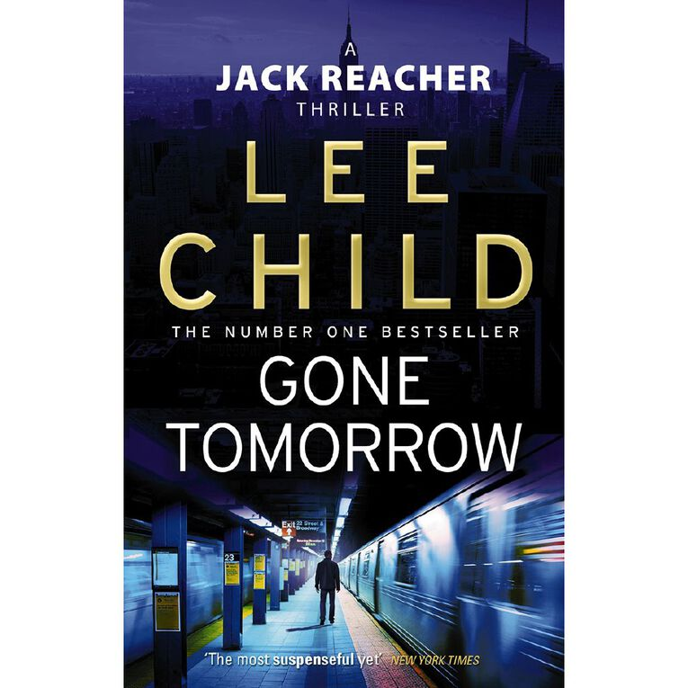 Gone Tomorrow by Lee Child, , hi-res