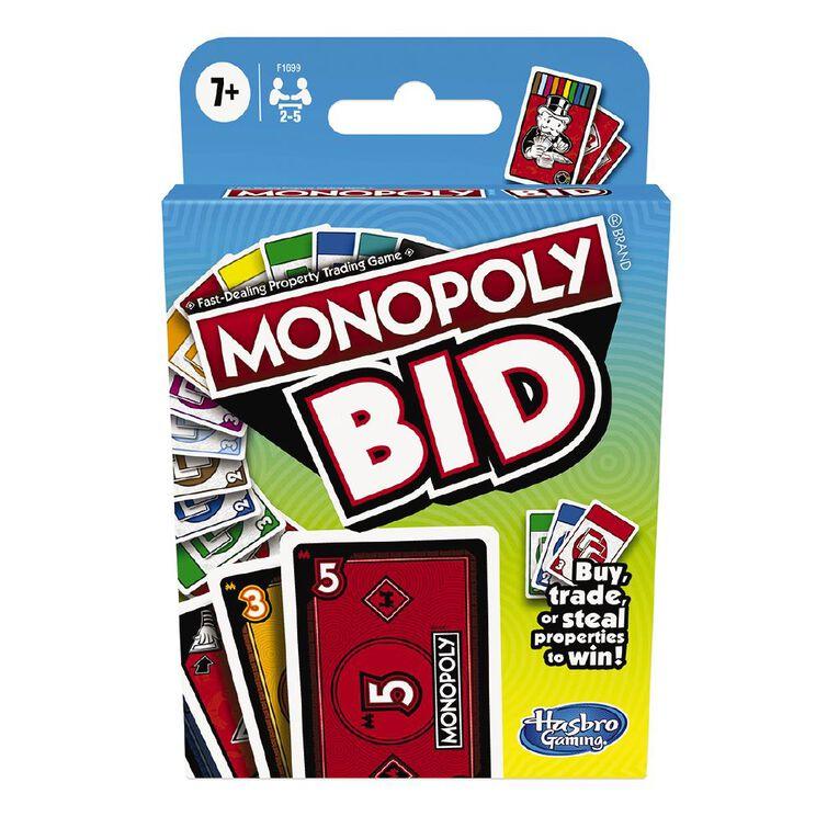 Monopoly Bid Game, , hi-res