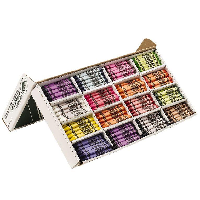 Crayola Triangular Crayons Classpack 256 Pack, , hi-res