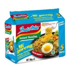 Indomie Mi Goreng BBQ Chicken 85g 5 pack