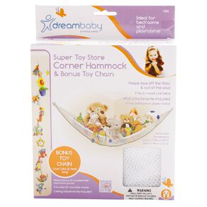 Dreambaby Super Toy Store Corner Hammock & Toy Chain
