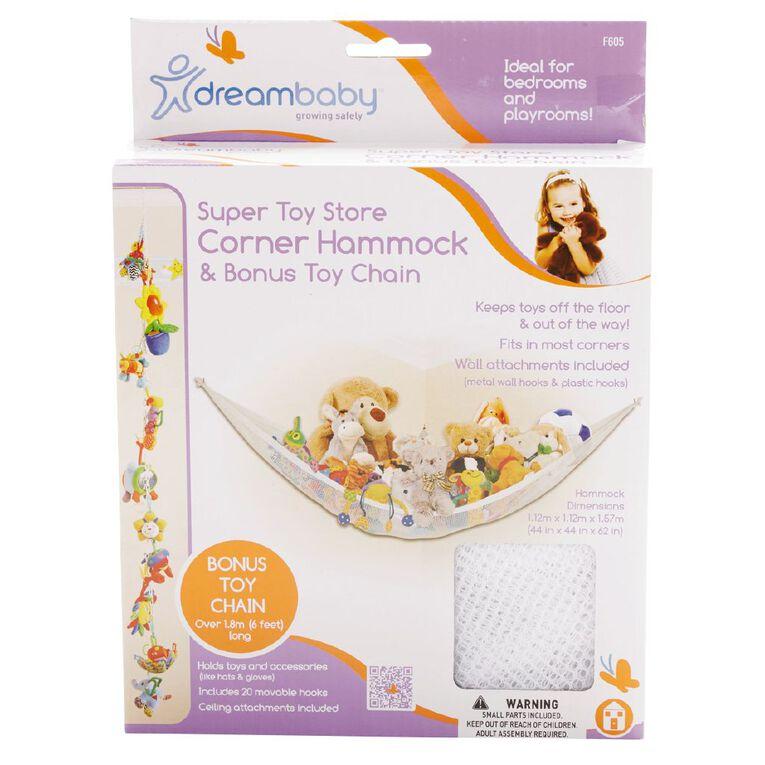 Dreambaby Super Toy Store Corner Hammock & Toy Chain, , hi-res