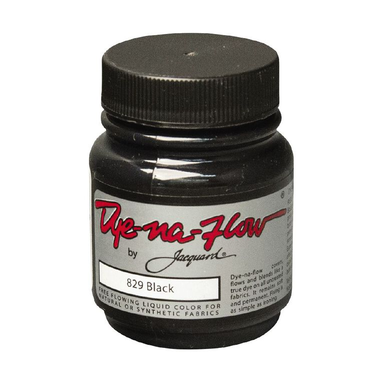 Jacquard Dye-Na-Flow 66.54ml Black, , hi-res image number null