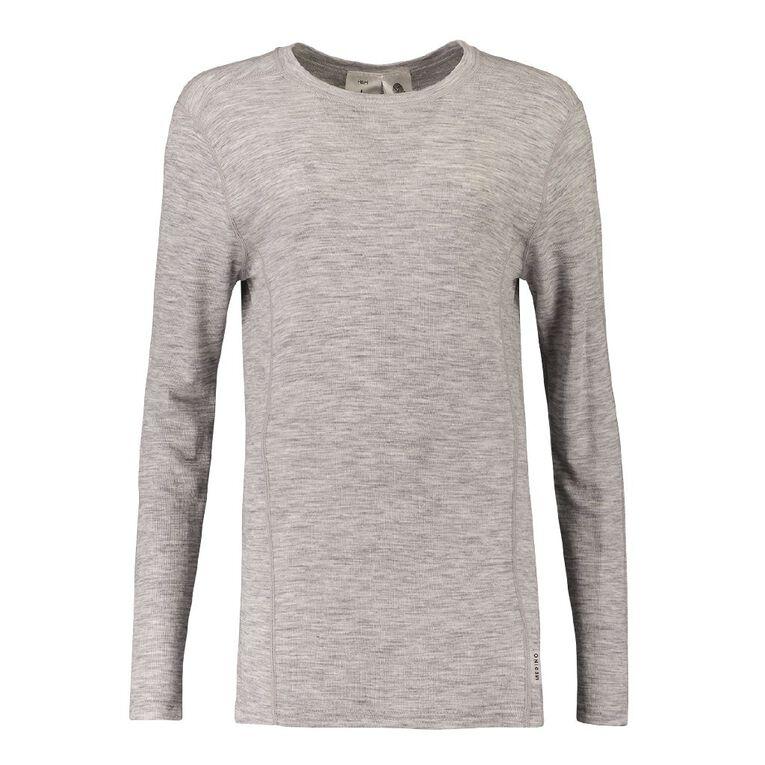 H&H Men's Merino Thermal, Grey, hi-res image number null