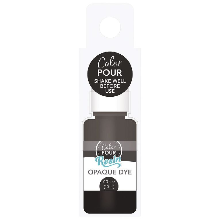 American Crafts Color Pour Dye Opaque Black, , hi-res image number null
