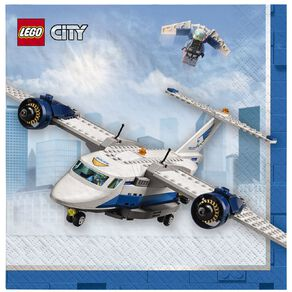 LEGO City Lunch Napkins 16 Pack