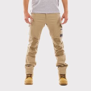 Tradie Men's Slim Fit Flex Cargo Pants