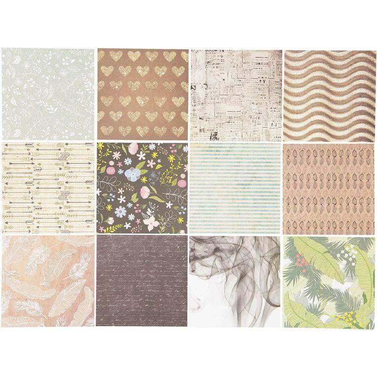 Uniti Designer Paper 6x6 24 Sheets Neutrals, , hi-res