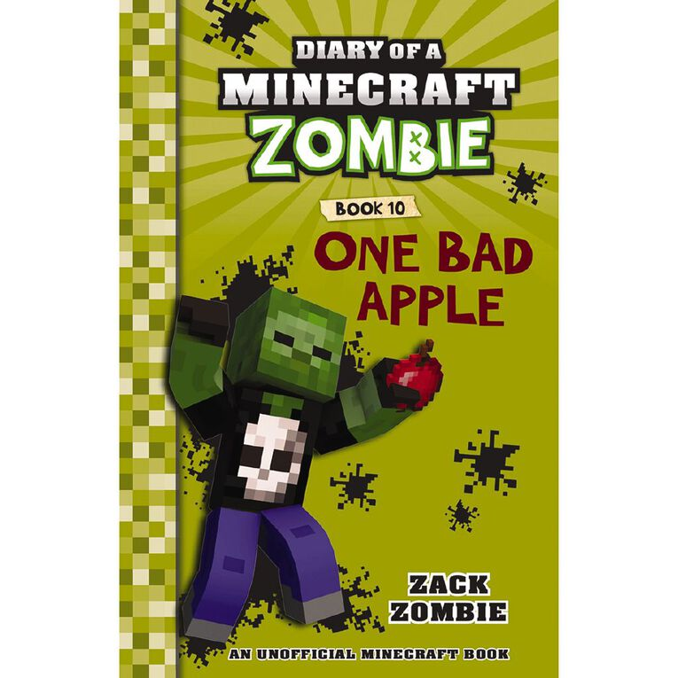 Minecraft Zombie #10 One Bad Apple, , hi-res