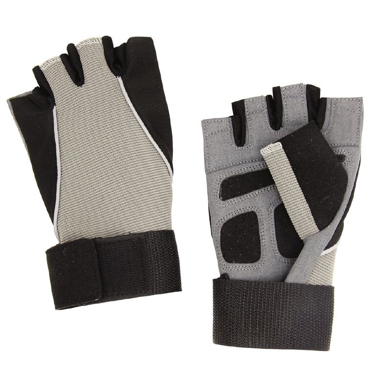 Active Intent Fitness Synthetic Lifting Gloves Black, , hi-res