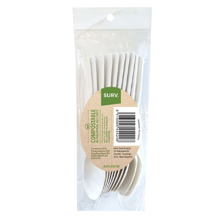 SURV. Eco Spoons 10 Pack, , hi-res image number null