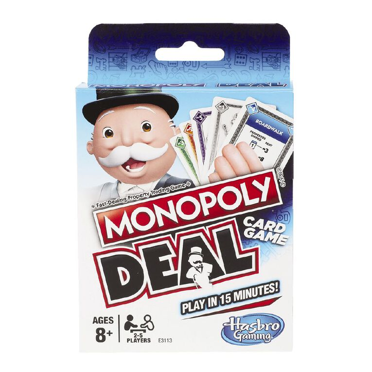 Monopoly Deal Game, , hi-res