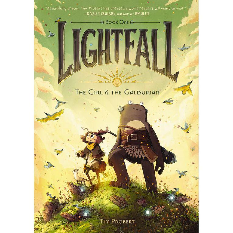 Lightfall #1 The Girl & the Galdurian by Tim Probert, , hi-res